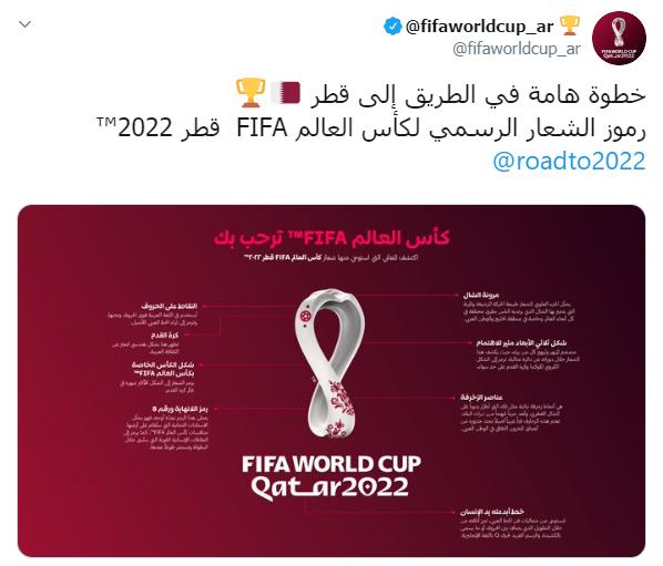 شاهد  فيفا يفسر ألغاز شعار كأس العالم 2022