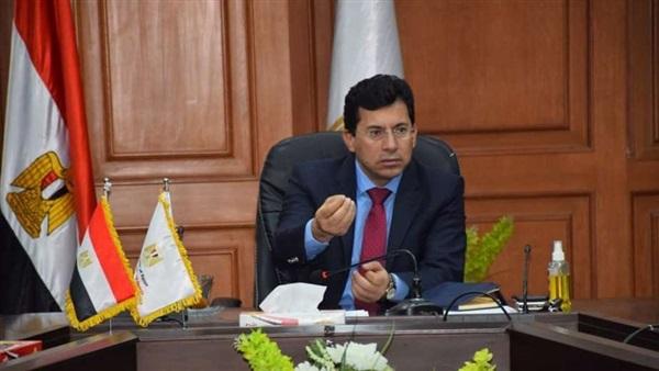 وزير الرياضة : مصر جاهزة لاستضافة مباريات دوري ابطال افريقيا
